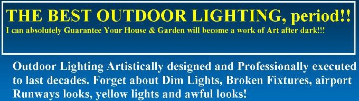 Landscape Lighting El Paso